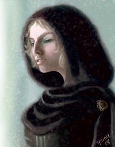 Diana in Snow