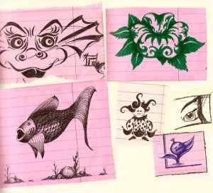 Doodlebook, round 2 scans